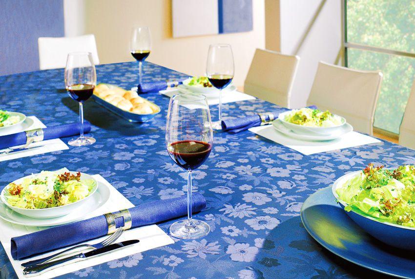Das Beste ist gerade gut genug - hochwertige und elegante Tischdecken von der Rolle konfektioniert für alle Tischgrößen verfügbar