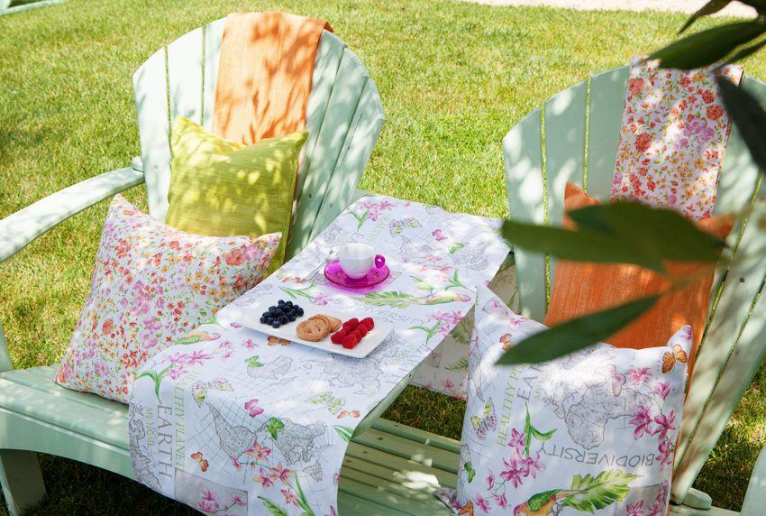 Besondere Gartentischdecken aus wetterfesten Materialien in vielen modernen Farben