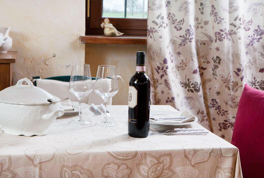 Eine moderne Tischdecke oder ein Tafeltuch im Landhausstil nach Ihren Maßen in eckig oder rund - hier werden Sie fündig