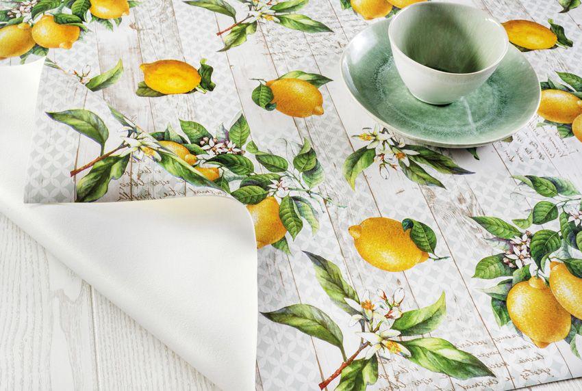 Dekorative Tischbeläge mit rutschfester Unterschicht schützen wirkungsvoll die Tischoberfläche