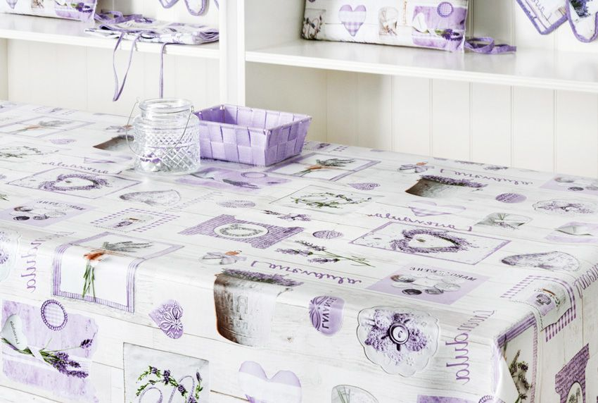 Lila - Nicht der letzte Versuch - Schöne Tischwäsche mit pflegeleichten Eigenschaften passend für jeden Tisch