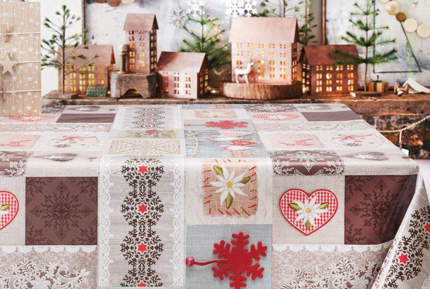 Nicht nur für die Adventszeit - Abwaschbare Tischwäsche mit Motiven die auch zur Weihnachtszeit verwendet werden können