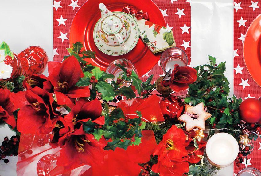 Weihnachtliche Tischdecken - aber bitte mit Stil - Dekoration und passende Tischtücher zu Weihnachten als harmonischen Verbund wirkungsvoll einsetzen
