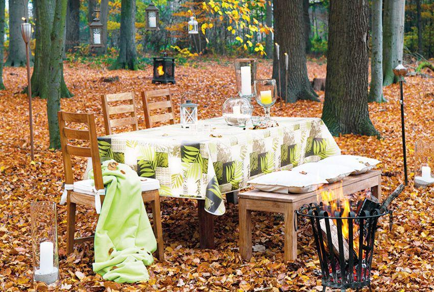 Beschichtete Tischdecken heute - Baumwolltischwäschen und Wachstücher besitzen eine feuchtigkeitsunempfindliche Oberfläche und eine ansprechende Optik